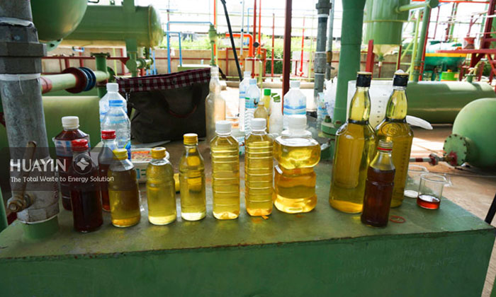 Thailand waste plastic to diesel oil project.jpg